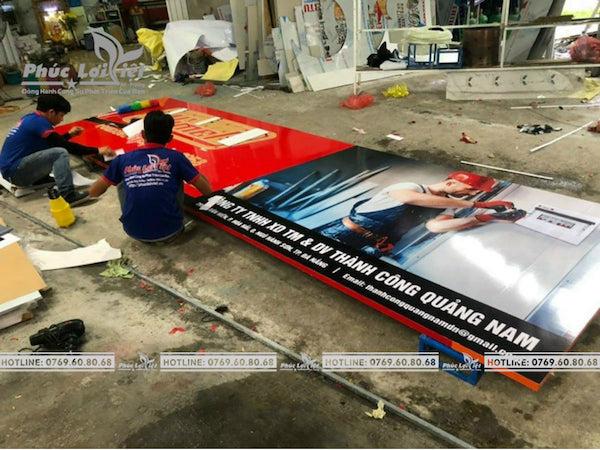 Phúc Lợi Việt thiết kế và thi công bảng hiệu quảng cáo giá rẻ