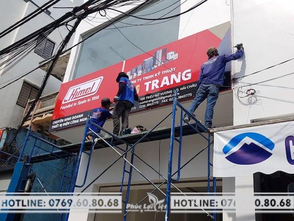 In bạt quảng cáo Đà Nẵng giúp tăng độ nhận diện thương hiệu